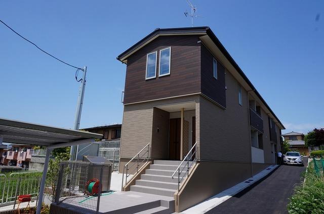深草大亀谷東寺町アパート外観写真