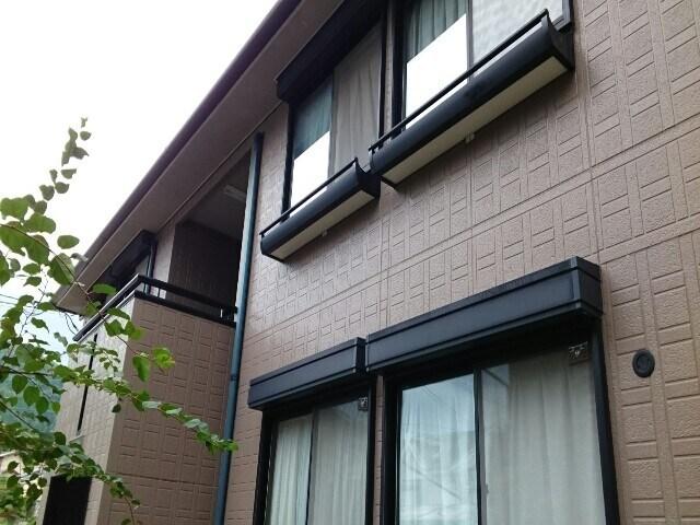 日野西風呂町アパート外観写真
