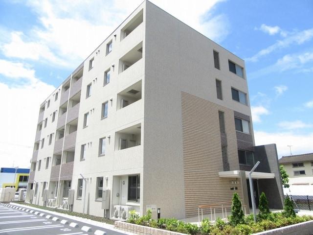 篠尾新町マンション外観写真