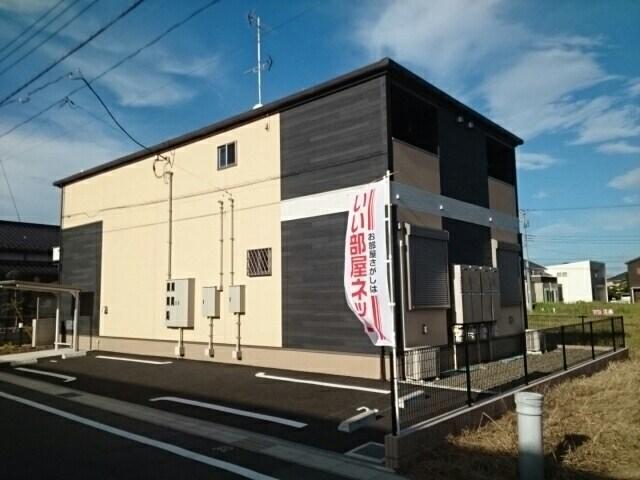 奈良輪アパート外観写真