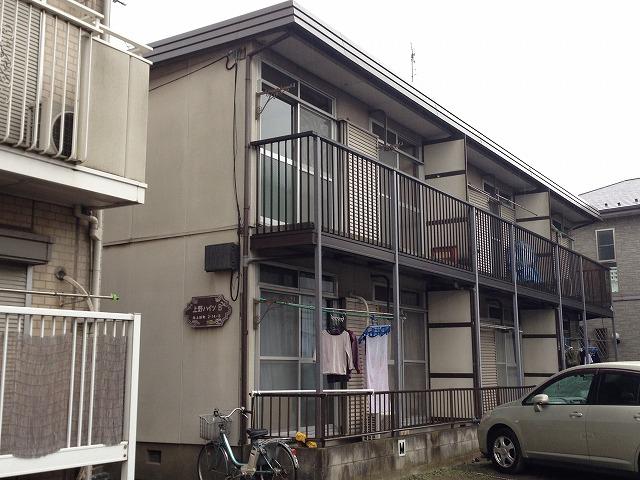 上野ハイツB棟外観写真