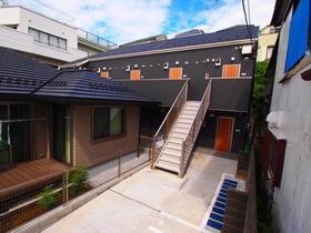 諏訪坂新築アパート外観写真