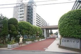 草加松原ハイツA棟外観写真