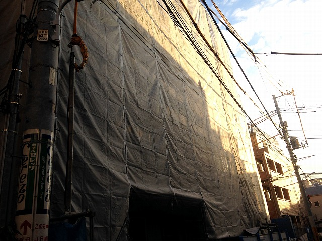 仮称)台東区根岸2丁目計画外観写真