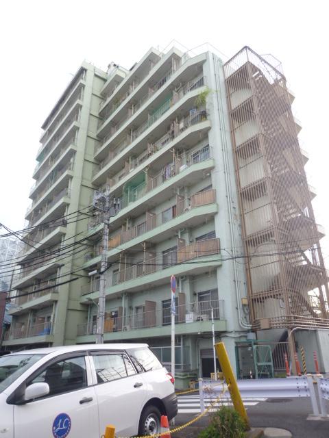 多摩川フラワーマンション外観写真