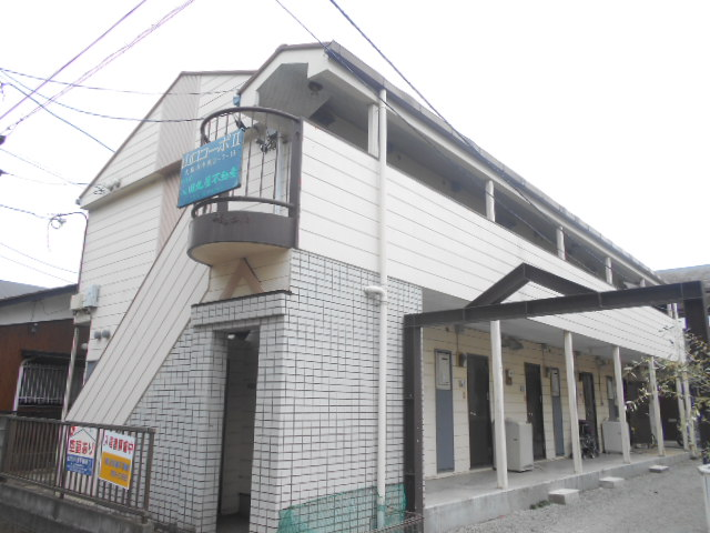 山口コーポⅡ外観写真