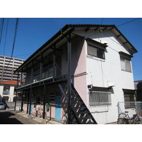 昭和アパート外観写真