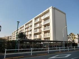 多摩川住宅ハー13号棟外観写真