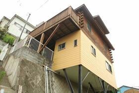 西竹之丸戸建スウェーデン式ログハウス外観写真