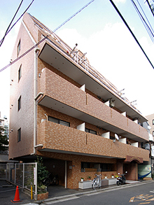 ライオンズマンション大森本町第2外観写真