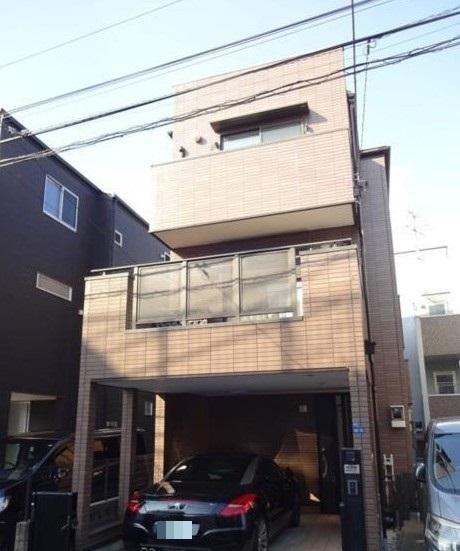 大田区新蒲田3丁目戸建外観写真
