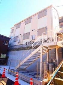 (仮称)清水ヶ丘新築アパート外観写真