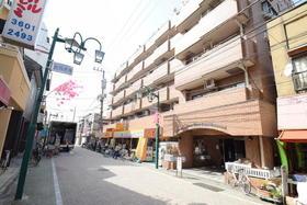 ライオンズマンションお花茶屋駅前通り外観写真