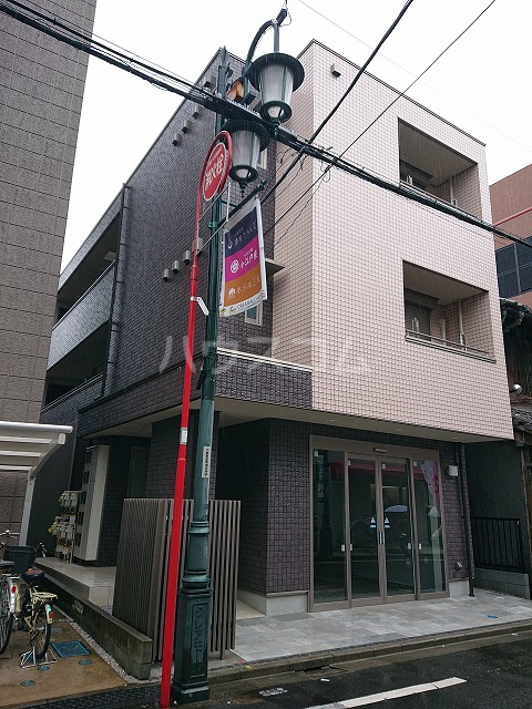 仮称)新富町店舗併用賃貸住宅外観写真