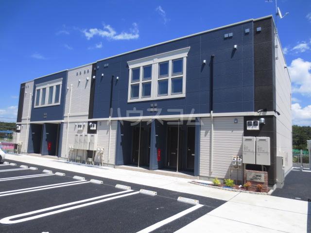 ロココ若松町新築工事外観写真