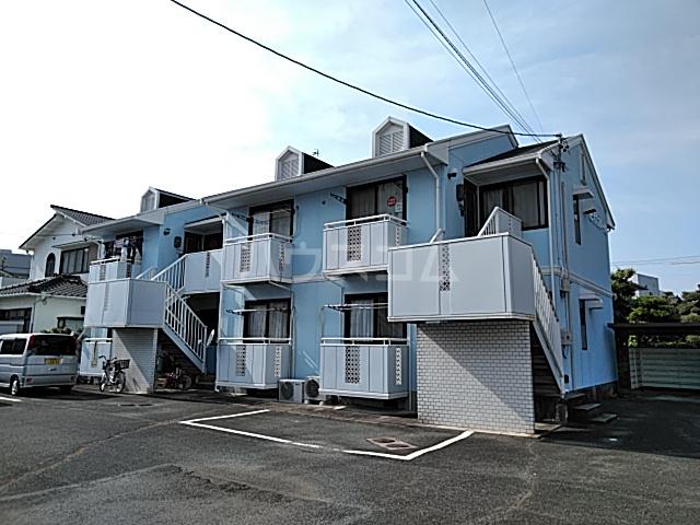 ハピネスブルーA棟外観写真