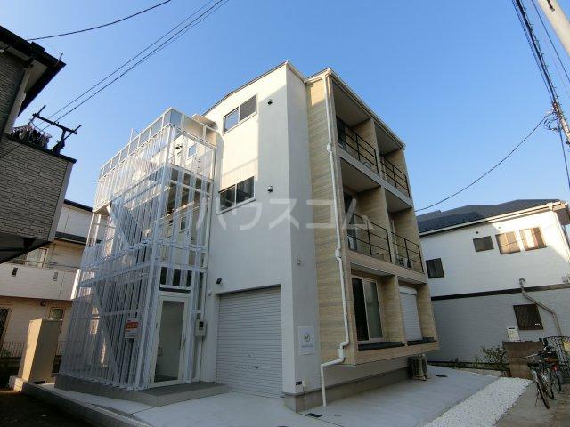 高石神アパートメント外観写真