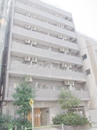 スカイコート三田慶大前外観写真