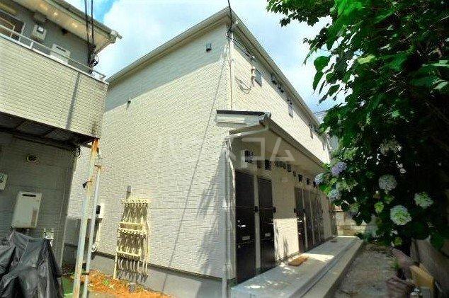 仮)大田区新築アパート外観写真