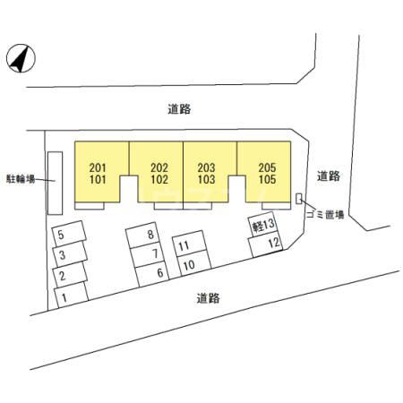 (仮)D-room東所沢和田外観写真