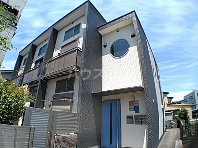 コモド稲田堤外観写真