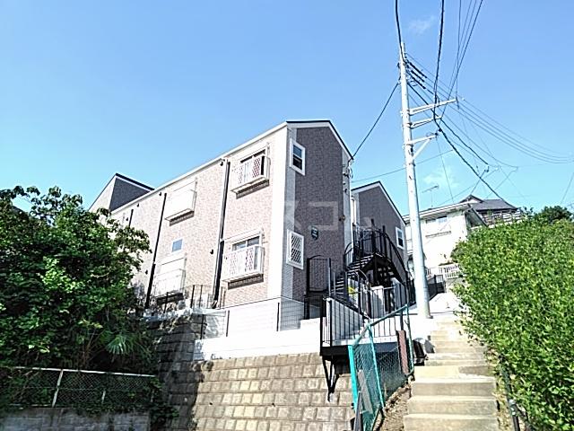 ハーミットクラブハウス大倉山ⅡA棟外観写真