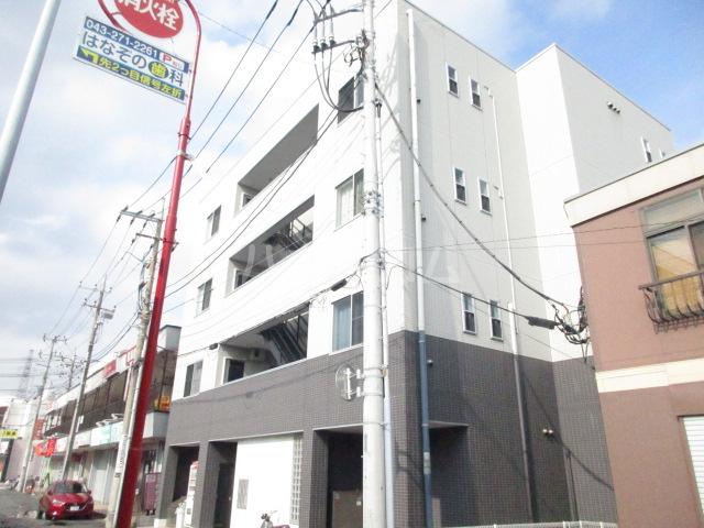 スクエアコート新検見川外観写真