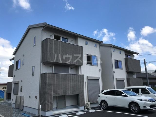 仮)安城市姫小川町新築アパートB棟外観写真