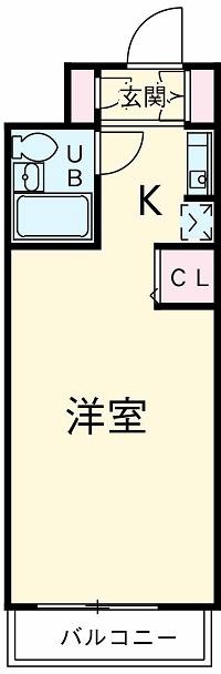 鎌ケ谷ハイツ 304号室の間取り