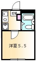 ディアコート町田 102号室の間取り