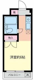 コーポあーさ・相武台 203号室の間取り