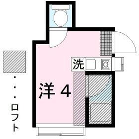 長谷川ハイツ 103号室の間取り