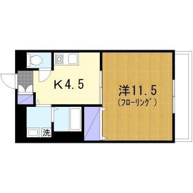 リコ桜ヶ丘駅前 403号室の間取り