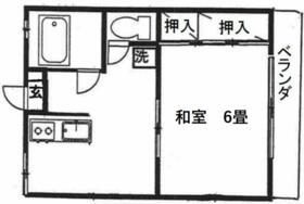 パールマンション 207号室の間取り