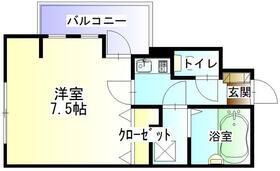 湘南マンション 3-J号室の間取り
