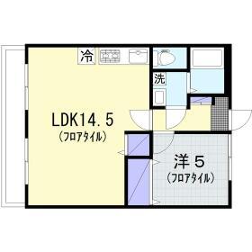桜ヶ丘東和マンション 203号室の間取り